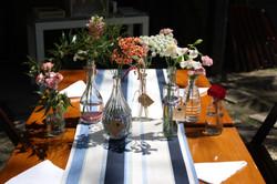 Composição mesa convidado