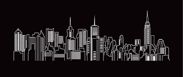 cityscape-building-line-art-vector-260nw