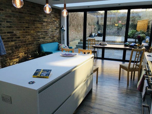Interior kitchen extension, Hornsey
