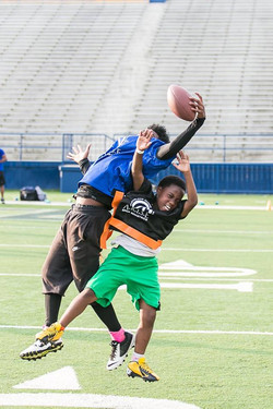 football action catch