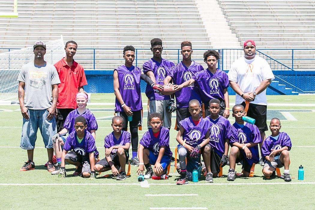 football purple team