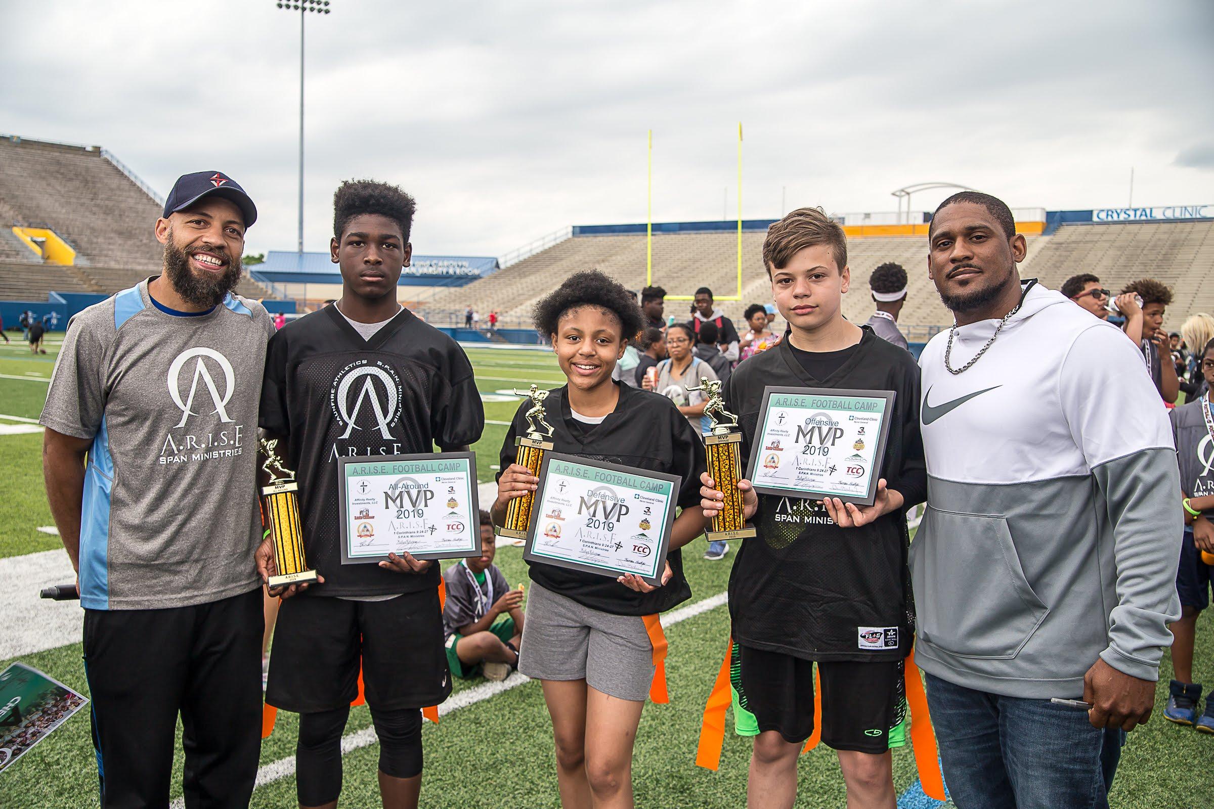 Football Camp MVPs