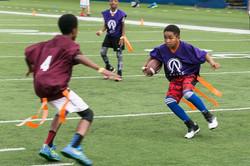 football action shot