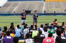 KSU Football players