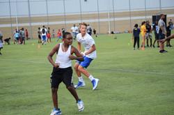 football team practice