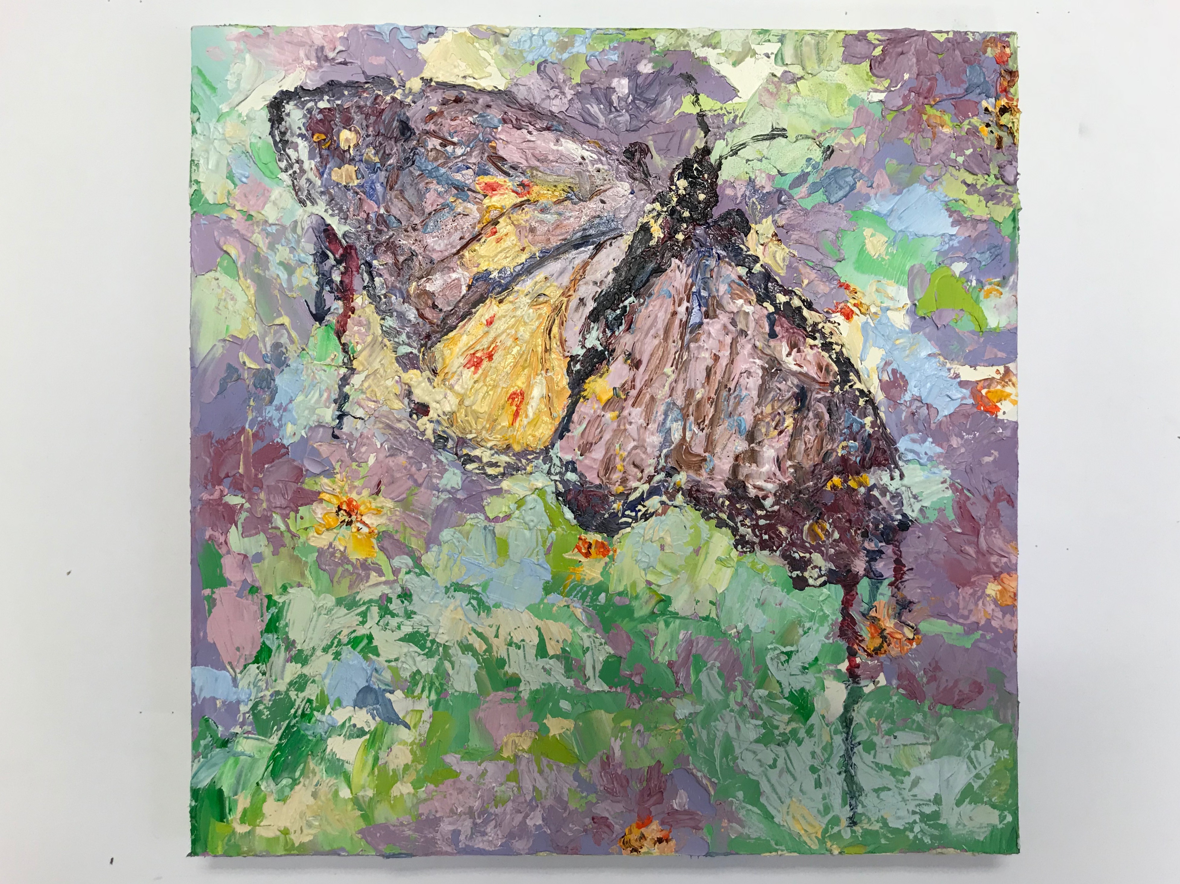 Oil Painting with Palette Knife/Cold Wax