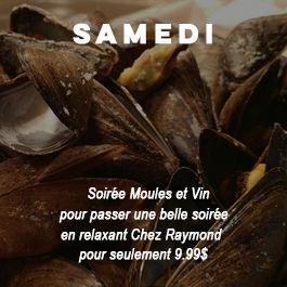 Chez Raymond Soirée Moules et Vin