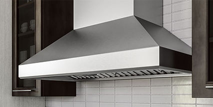 Vent hoods at Creative Appliance Gallery