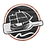 logo wood grain no text orange circle fi