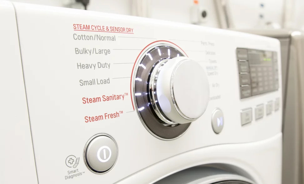 Steam dryers at Creative Appliance Gallery