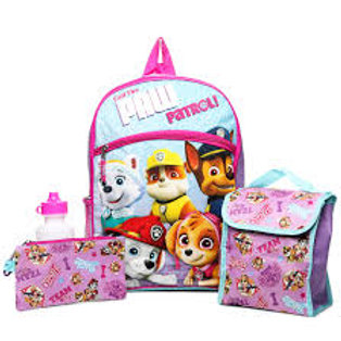 "Paw Patrol® 16"" Kids' Backpack Set - 5pc"