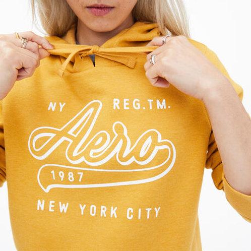 Aero Saffron Gold Pullover Hoodie