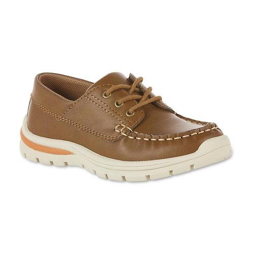 Freeman Boys' Brown Marcus Boat Shoe