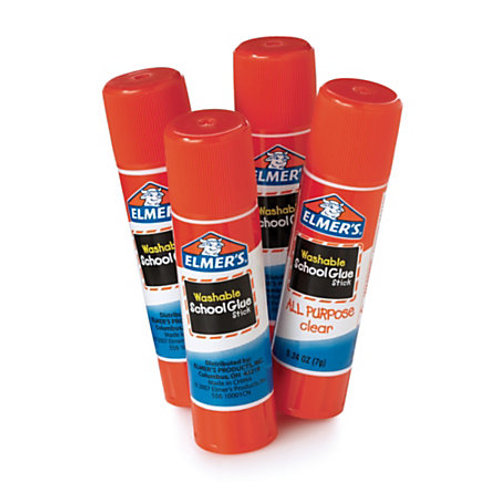 4 Elmer's Glue Sticks .24oz