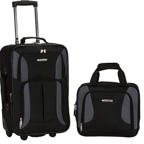 Rockland Unisex 2 Piece Luggage Set