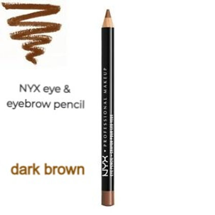 NYX Nyx slim eye pencil - 903 - dark brown