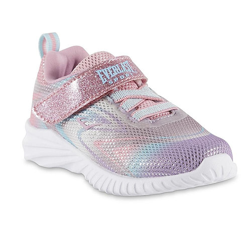 Everlast® Sport Girls' Swirls Sneaker - Gray/Pink