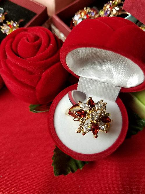 Stainless Steel Women's Valentine Ring