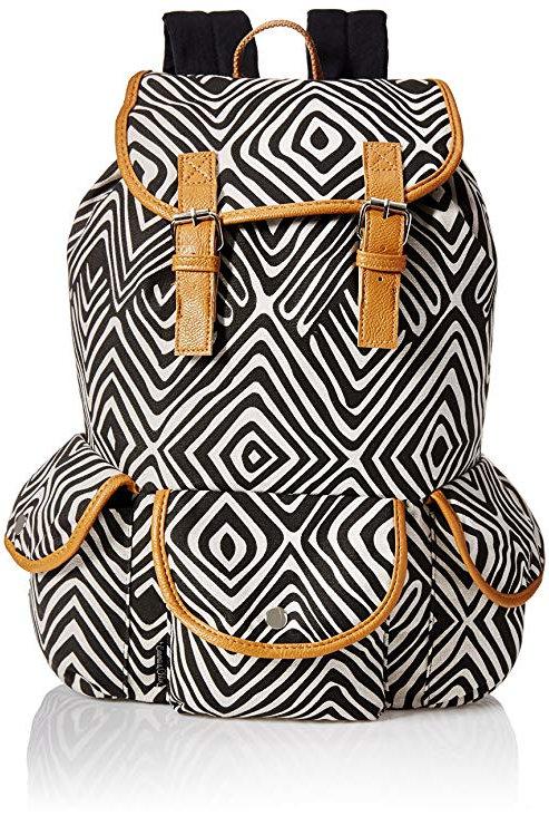 Trailmaker Girls' All Over Print Cotton Backpack
