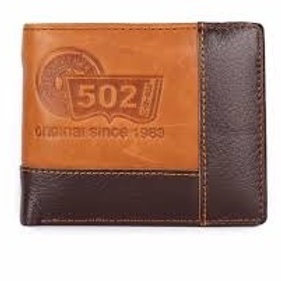 Genuine Men's Leather Coin Wallet