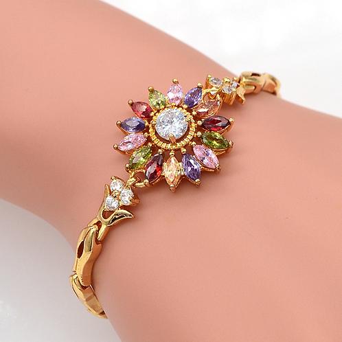 SunFlower Charm Bracelet Jewelry