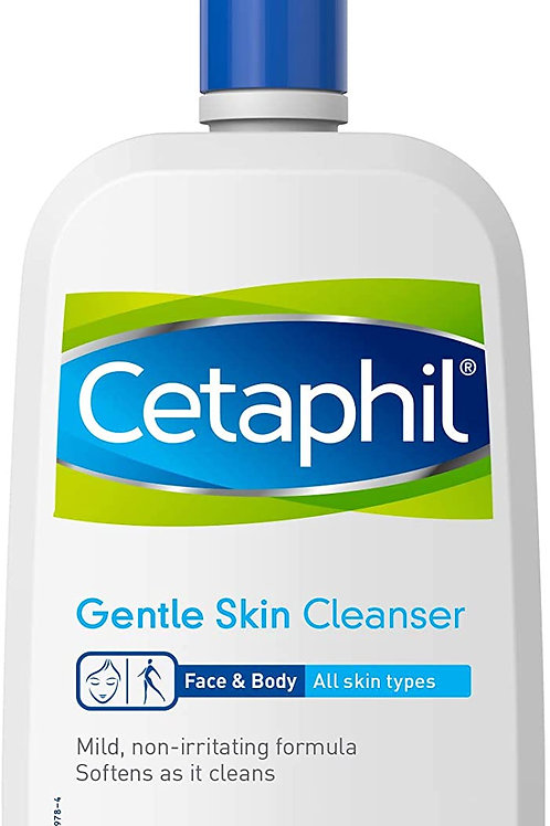 Cetaphil Gentle Skin Cleanser, Hydrating Face Wash & Body Wash