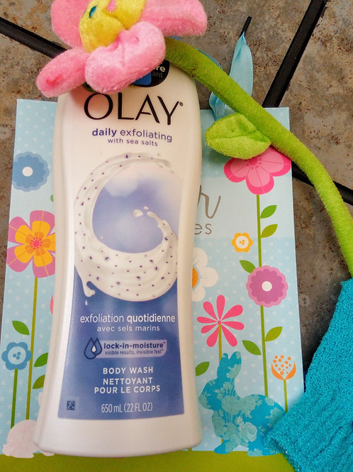 Olay Daily Exfoliating with Sea Salts Body Wash