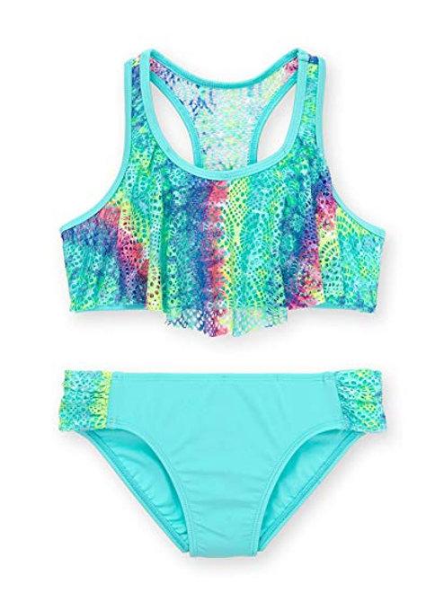 Girls' Remix Tie Dye Fashion Bikini