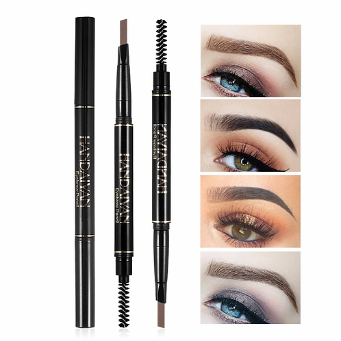 Double Ended Handaiyan  Fine Long-lasting Waterproof Eyebrow Pencil