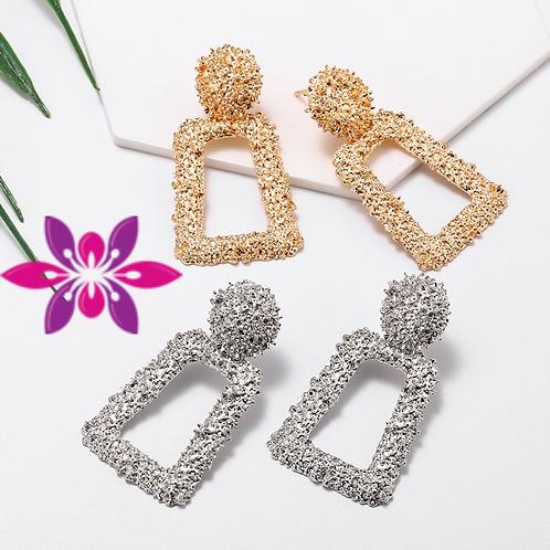 Geometric Design Earrings for Women