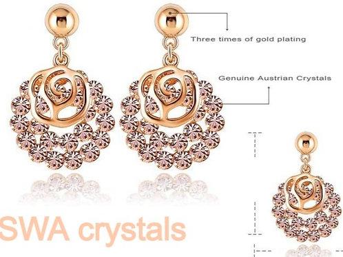 SWA Element Austrian Crystal Earrings For Women