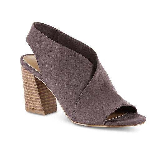 Metaphor Women's Stala Sling-Back Block Heel Dress Shoe - Gray