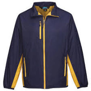 Tri-Mountain Men's Full Zip Outdoor Wind Resistant Jacket