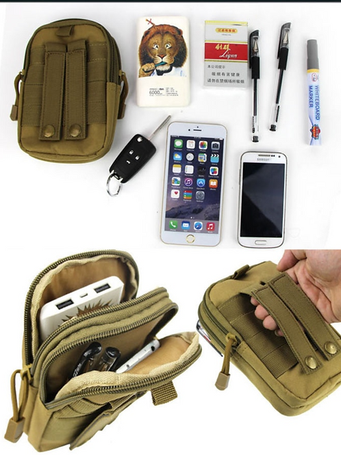 Oxford Waterproof Military Travel Waist Pouch