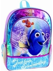 Finding Dory with Nemo Backpack School Travel Back Pack