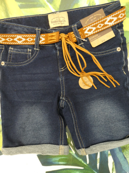 Girl's Denim Bermuda - Roebuck & Co. #2