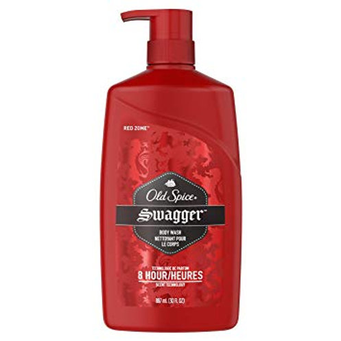 Old Spice Red Zone Swagger Body Wash Pump - 30oz