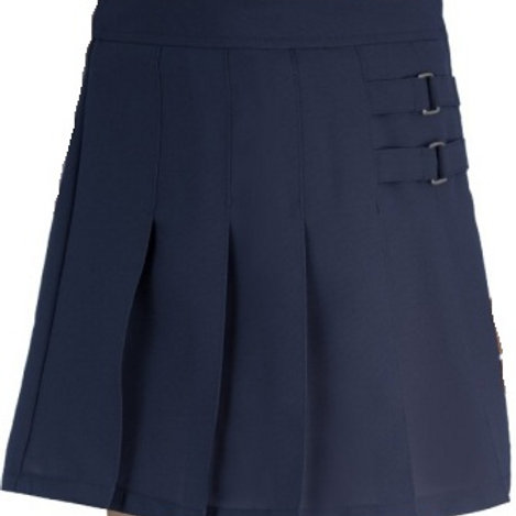 French Toast Girls' Two-Tab Pleated Skirt