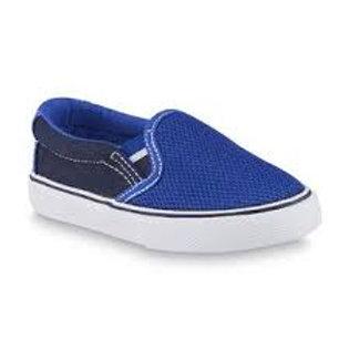 Joe Boxer Boy's Remix Blue/Black Slip-On Shoe