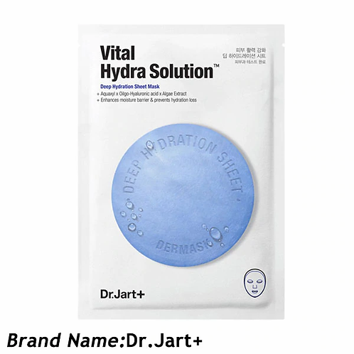 Dr.Jart Dermask Sheet Mask Hydrating Whitening Face