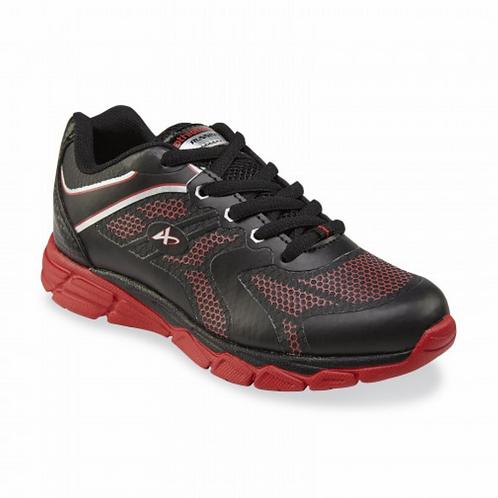 Dynamo Athletech Girl's Sneaker blk/red