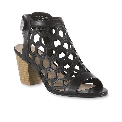 Roebuck & Co. Women's Logan Caged Heel - Black