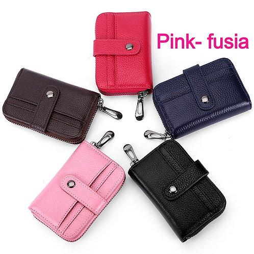 Women Business Wallet Genuine Leather