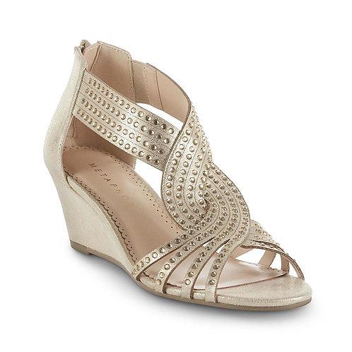 Metaphor Women's Zema Wedge Heel - Gold