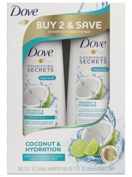Dove Nourishing Secrets Shampoo & Conditioner