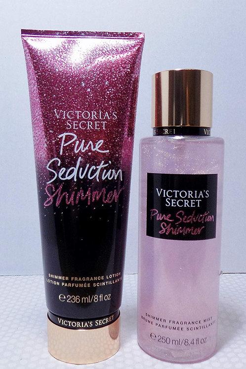 VS Pure Seduction Shimmer Bundle Fragrance Mist & Fragrance Lotion