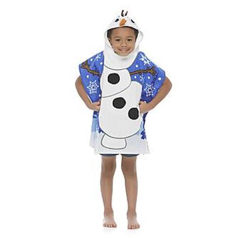 Disney Olaf Frozen Kids' Hooded Towel Poncho