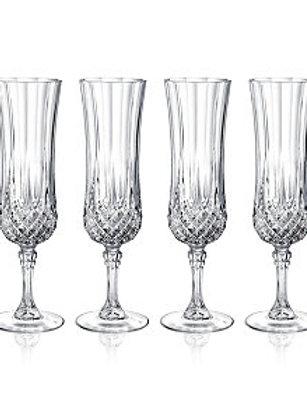 Cristal D'Arques Longchamp 4.5oz Glass Champagne
