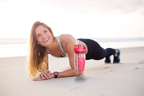 Danum Fruit Infuser Water Bottle (Coral)