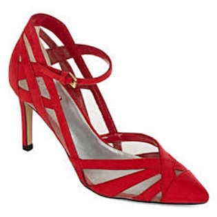 a.n.a Natalie Red Pumps in size 7.5
